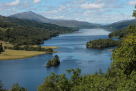 Queens View am Loch Tummel