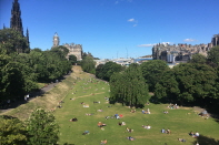Princes Street Gardens/ Edinburgh