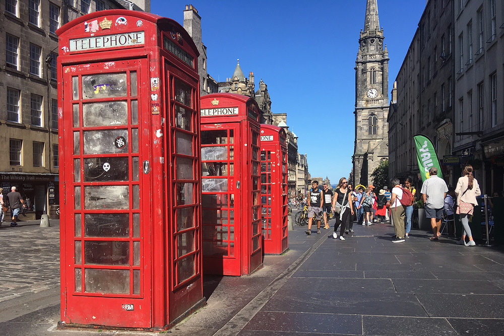 Royal Mile/ Edinburgh